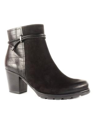 Ботинки черные | 4877794