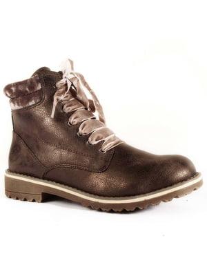 Ботинки бронзового цвета | 4877798