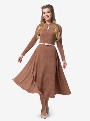 Платье цвета мокко | 4878404