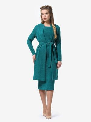 Костюм: кардиган и платье | 4878417