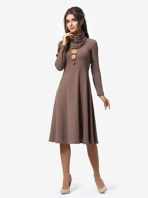 Платье цвета мокко | 4878659