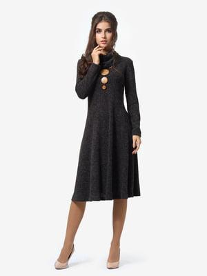 Сукня графітового кольору   4878660