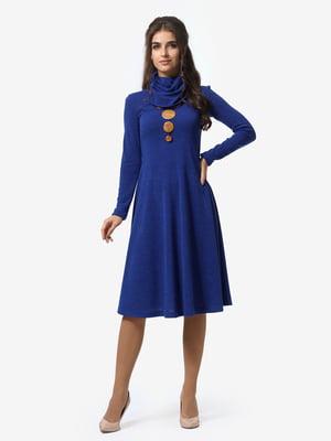 Сукня кольору електрик | 4878662