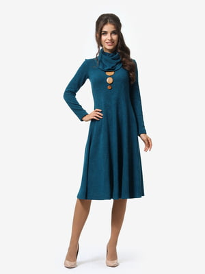 Платье бирюзовое | 4878663