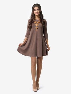 Платье цвета мокко | 4878665