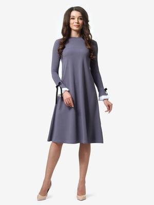 Сукня графітового кольору | 4878686