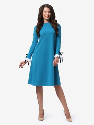 Платье бирюзовое | 4878690