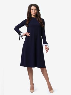 Сукня темно-синя | 4878692