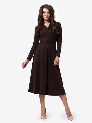 Платье коричневое | 4878694