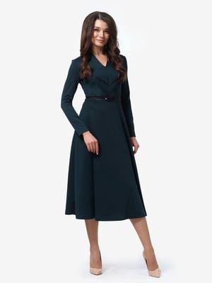 Сукня темно-зелена | 4878695