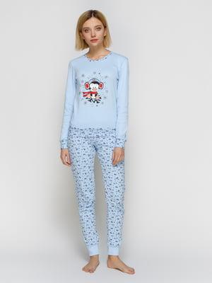 Пижама: джемпер и штаны | 4840927