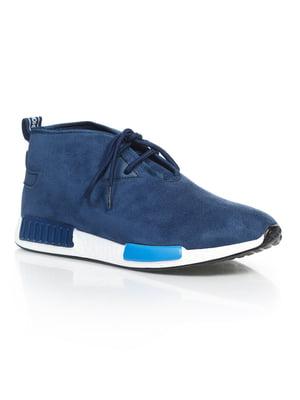 Кроссовки синие | 4879326