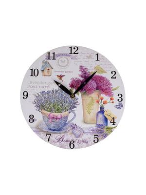 Часы настенные «Лаванда» (29 см) | 4879711