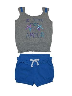 Комплект: майка и шорты | 4879774