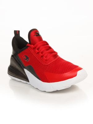 Кроссовки черно-красные | 4879742