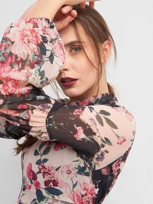 Платье в цветочный принт | 4880057