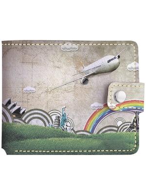 Бумажник с принтом | 4881240