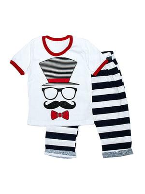 Комплект: футболка и бриджи | 4879917