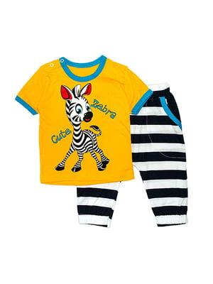Комплект: футболка і бриджі | 4879924