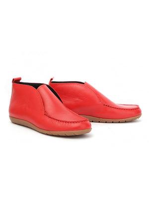 Ботинки красные | 4879330