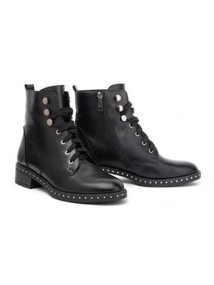 Ботинки черные   4879344