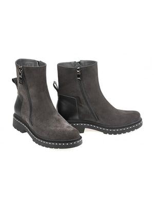 Ботинки серые | 4879349