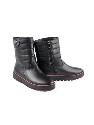 Полусапожки черные | 4879370