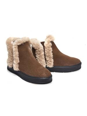 Ботинки коричневые | 4879373
