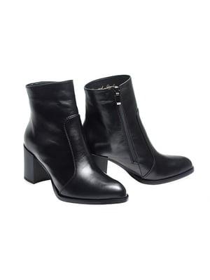 Ботинки черные   4879393