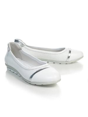 Балетки белые | 4879409