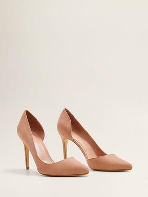 Туфли цвета пудры | 4861085