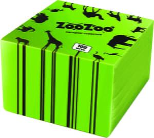 Салфетки (24х23 см), (100 шт.) - зеленые | 4885449