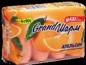 Крем-мило твердое «Апельсин» (4x90 г) | 4885465