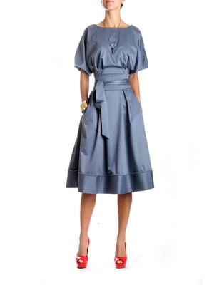 Платье синее | 4885049