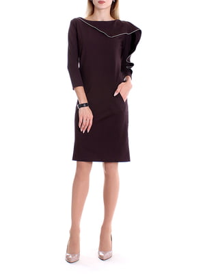 Платье коричневое | 4885057