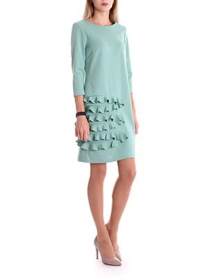 Сукня м'ятного кольору   4885075