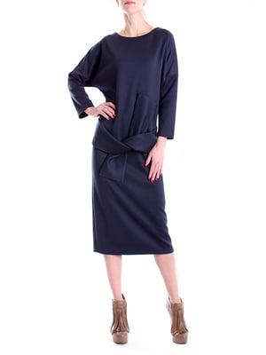 Платье синее | 4885077