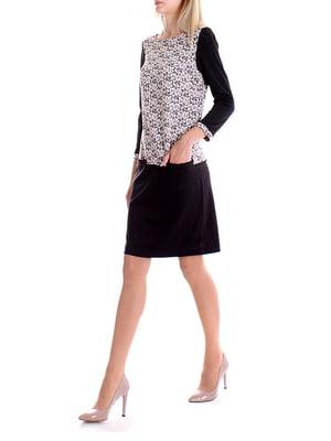 Сукня двоколірна | 4885079