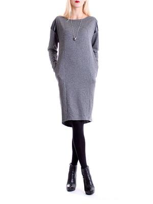 Платье серое | 4885103