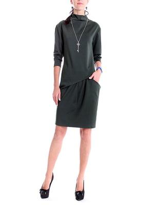 Платье зеленое | 4885104