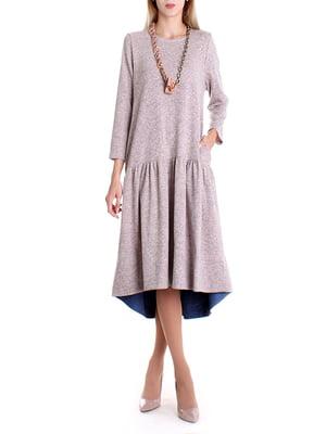 Платье бежевое | 4885112