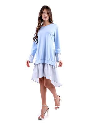 Сукня блакитна   4885127