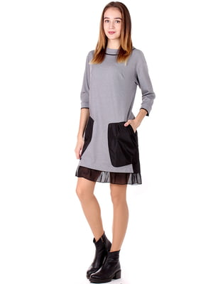 Сукня сіра | 4885145