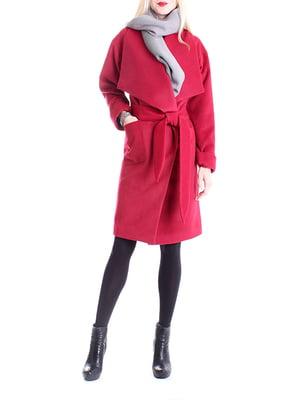 Пальто красное | 4885166