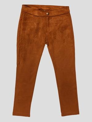 Штани коричневі | 3265521