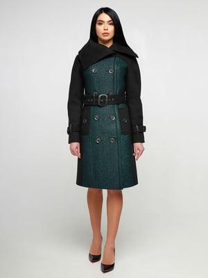 Пальто двухцветное | 4886125
