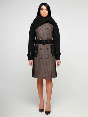 Пальто двоколірне | 4886132