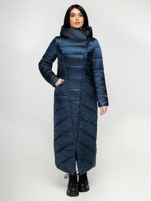 Пальто синее | 4886134