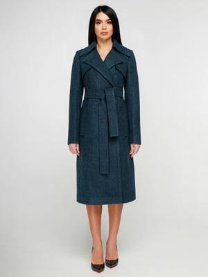 Пальто изумрудного цвета | 4886136