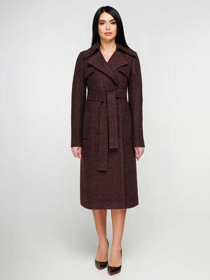 Пальто бордове | 4886137
